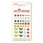 My Mind's Eye - Cozy Christmas Collection - Enamel Shapes