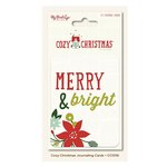 My Mind's Eye - Cozy Christmas Collection - Journal Cards