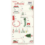My Mind's Eye - Cozy Christmas Collection - Cardstock Stickers - Tags