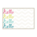 My Mind's Eye - Cut and Paste Collection - Adorbs - 4 x 6 Journal Card - Hello