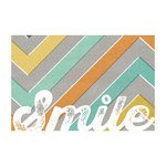 My Mind's Eye - Cut and Paste Collection - Charm - 4 x 6 Journal Card - Smile