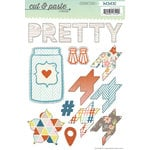 My Mind's Eye - Cut and Paste Collection - Presh - Cardstock Stickers - Beautiful