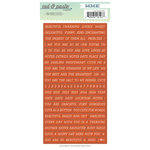 My Mind's Eye - Cut and Paste Collection - Presh - Cardstock Stickers - Tiny Words - Beautiful