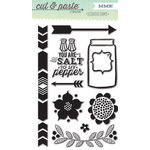 My Mind's Eye - Cut and Paste Collection - Presh - Clear Acrylic Stamps - Good Times