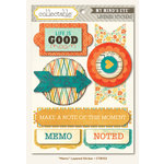 Collectable Collection - Notable - 3 Dimensional Stickers - Memo by My Mind's Eye