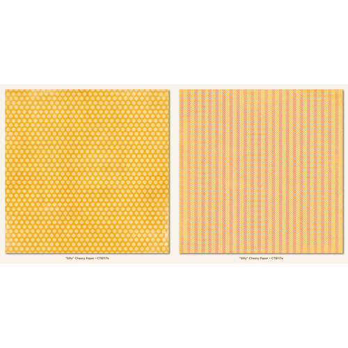 Collectable Collection - Notable - 12 x 12 Double Sided Paper - Cheery by My Mind's Eye