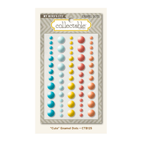 Collectable Collection - Notable - Enamel Dots - Cute by My Mind's Eye