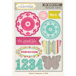 Collectable Collection - Memorable - Chipboard Stickers - Perfect by My Mind's Eye