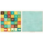 Collectable Collection - Remarkable - 12 x 12 Double Sided Paper - Dates by My Mind's Eye