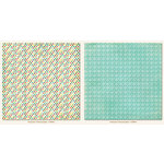 My Mind's Eye - Collectable Collection - Remarkable - 12 x 12 Double Sided Paper - Charming