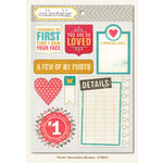 Collectable Collection - Unforgettable - Cardstock Stickers - Firsts by My Mind's Eye