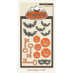 My Mind's Eye - Frightful Collection - Halloween - Enamel Shapes