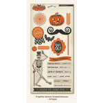 My Mind's Eye - Frightful Collection - Halloween - Cardstock Stickers