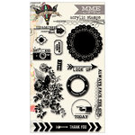 My Mind's Eye - Sky's the Limit Collection - Clear Acrylic Stamps
