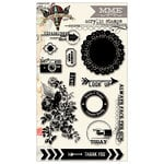 My Mind's Eye - Skys the Limit Collection - Clear Acrylic Stamps