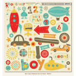 Boy Crazy Collection - 12 x 12 Chipboard Stickers by My Mind's Eye