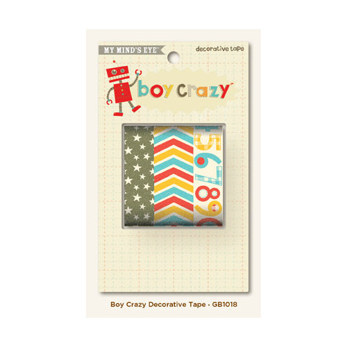 My Mind's Eye - Boy Crazy Collection - Decorative Tape