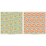 My Mind's Eye - My Girl Collection - 12 x 12 Double Sided Paper - Flutterby
