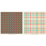 My Mind's Eye - My Girl Collection - 12 x 12 Double Sided Paper - Multi Plaid