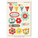 My Girl Collection - 3 Dimensional Stickers by My Mind's Eye