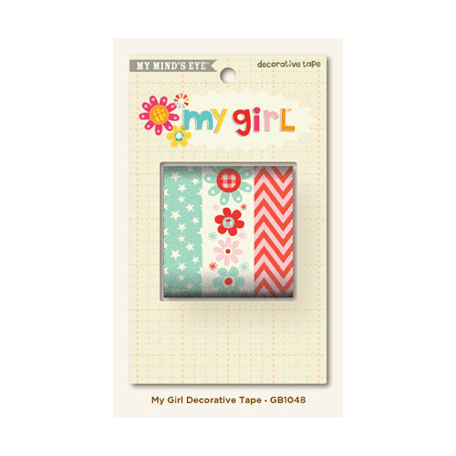 My Mind's Eye - My Girl Collection - Decorative Tape