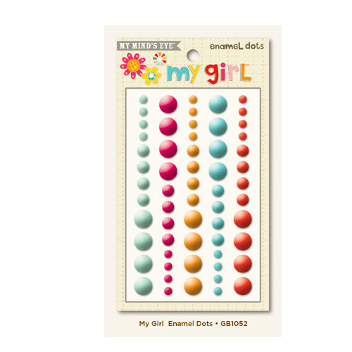My Girl Collection - Enamel Dots by My Mind's Eye