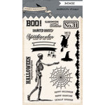 My Mind's Eye - Happy Haunting Collection - Halloween - Clear Acrylic Stamps