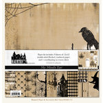 My Mind's Eye - Haunted Collection - Halloween - Paper Kit, CLEARANCE