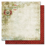 My Mind's Eye - Holly Jolly Collection - Christmas - 12 x 12 Double Sided Paper - Ornamental, CLEARANCE