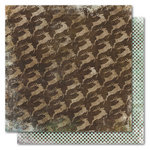 My Mind's Eye - Holly Jolly Collection - Christmas - 12 x 12 Double Sided Paper - Reindeer Fly