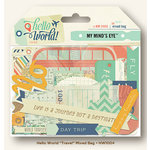 My Mind's Eye - Hello World Collection - Travel - Mixed Bag