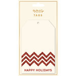 My Mind's Eye - Holiday Collection - Tags - Happy Holidays
