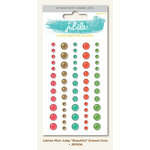 My Mind's Eye - Jubilee Collection - Mint Julep - Enamel Dots - Beautiful