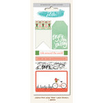 My Mind's Eye - Jubilee Collection - Mint Julep - Cardstock Stickers - Labels - Ride