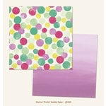 My Mind's Eye - Jubilee Collection - Sherbet - 12 x 12 Double Sided Paper - Pretty Bubbly