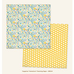 My Mind's Eye - Jubilee Collection - Tangerine - 12 x 12 Double Sided Paper - Adventure Charming