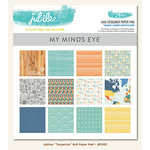 My Mind's Eye - Jubilee Collection - Tangerine - 6 x 6 Paper Pad