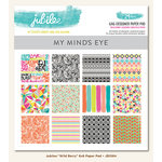 My Mind's Eye - Jubilee Collection - Wild Berry - 6 x 6 Paper Pad