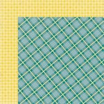My Mind's Eye - Kate and Co Collection - Oxford Lane - 12 x 12 Double Sided Paper - Tartan