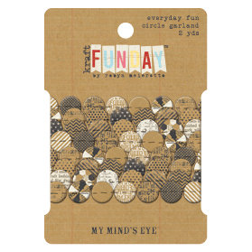 My Mind's Eye - Kraft Funday Collection - Everyday Fun - Circle Garland