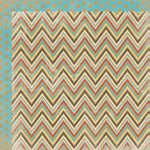 My Mind's Eye - Kraft Funday Collection - Happy Days - 12 x 12 Double Sided Kraft Paper - Sugar Rush