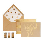 My Mind's Eye - Kraft Collection - Card Box Kit - Hello Gorgeous