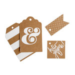 My Mind's Eye - Kraft Collection - Tag Box