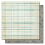 My Mind's Eye - Portobello Road Collection - 12 x 12 Double Sided Paper - Buddies Flannel, CLEARANCE