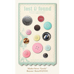 My Mind's Eye - Market Street Collection - Buttons - Lovely, CLEARANCE