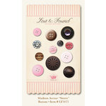 My Mind's Eye - Madison Avenue Collection - Buttons - Sisters, CLEARANCE