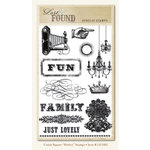 My Mind's Eye - Union Square Collection - Clear Acrylic Stamps - Perfect, CLEARANCE