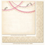My Mind's Eye - Lost and Found 2 Collection - Blush - 12 x 12 Double Sided Glitter Paper - Favorite Party