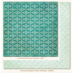 My Mind's Eye - Lost and Found 2 Collection - Breeze - 12 x 12 Double Sided Paper - Precious Motif