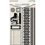My Mind's Eye - Lost and Found 3 Collection - Oliver - Clear Acrylic Stamps